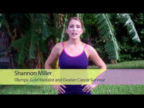 Olympic Gymnast Shannon Miller supports Globe-athon: The Walk to End Women's Cancers