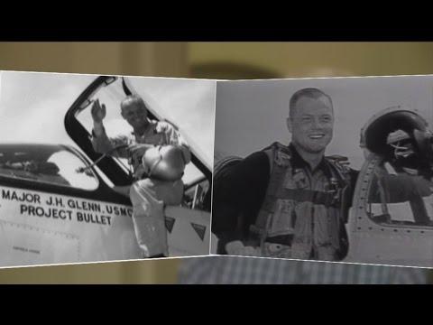 Pilot Remembers John Glenn Before He Became An Astronaut