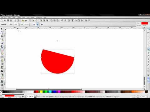 Create Circles Ellipses and Arcs - Inkscape Beginners