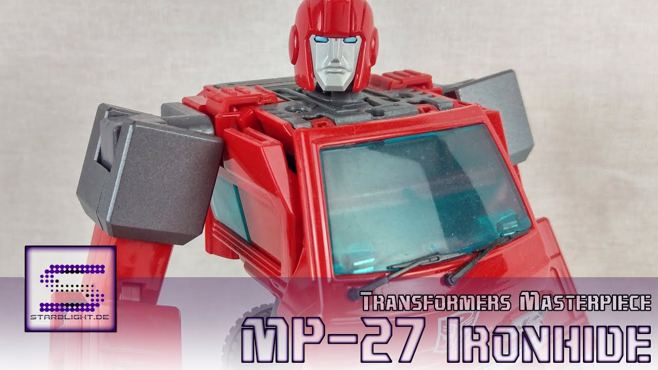2015 warrior jazz emgo s transformers reviews n stuff youtube - Transformers Masterpiece Mp 27 Ironhide Review Deutsch German