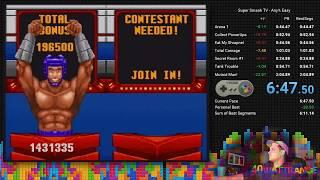 Super Smash TV Speedrun - Easy Any% PB (6:47.41)