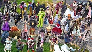 🎃 Huge 82 Halloween Animatronic Collection 🎃 DavidsTV