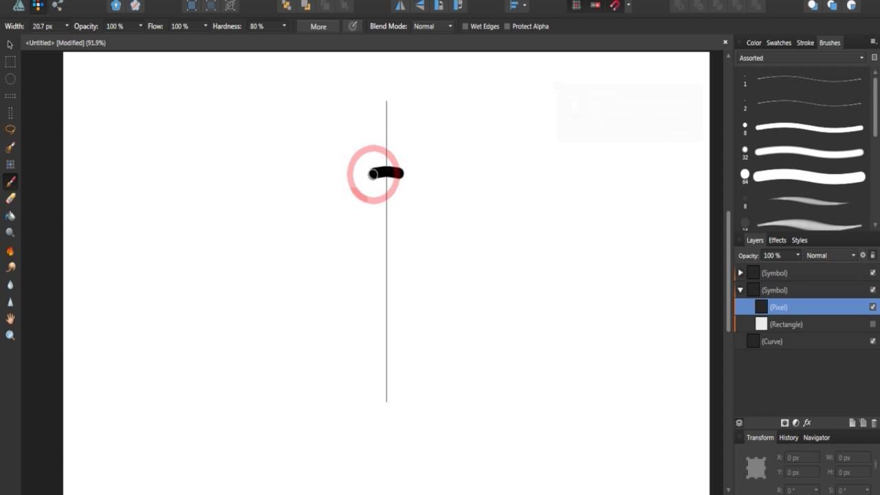 Live Mirror: Affinity Designer Tutorial