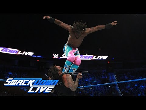 The Usos vs. The New Day - SmackDown Tag Team Title Street Fight: SmackDown LIVE, Sept. 12, 2017