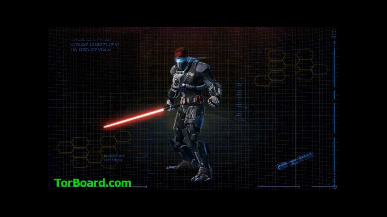 swtor how to wear sith armour