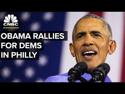 President Obama Delivers Remarks at a Rally for Sen. Bob Casey and Gov. Tom Wolf - Sept. 21, 2018