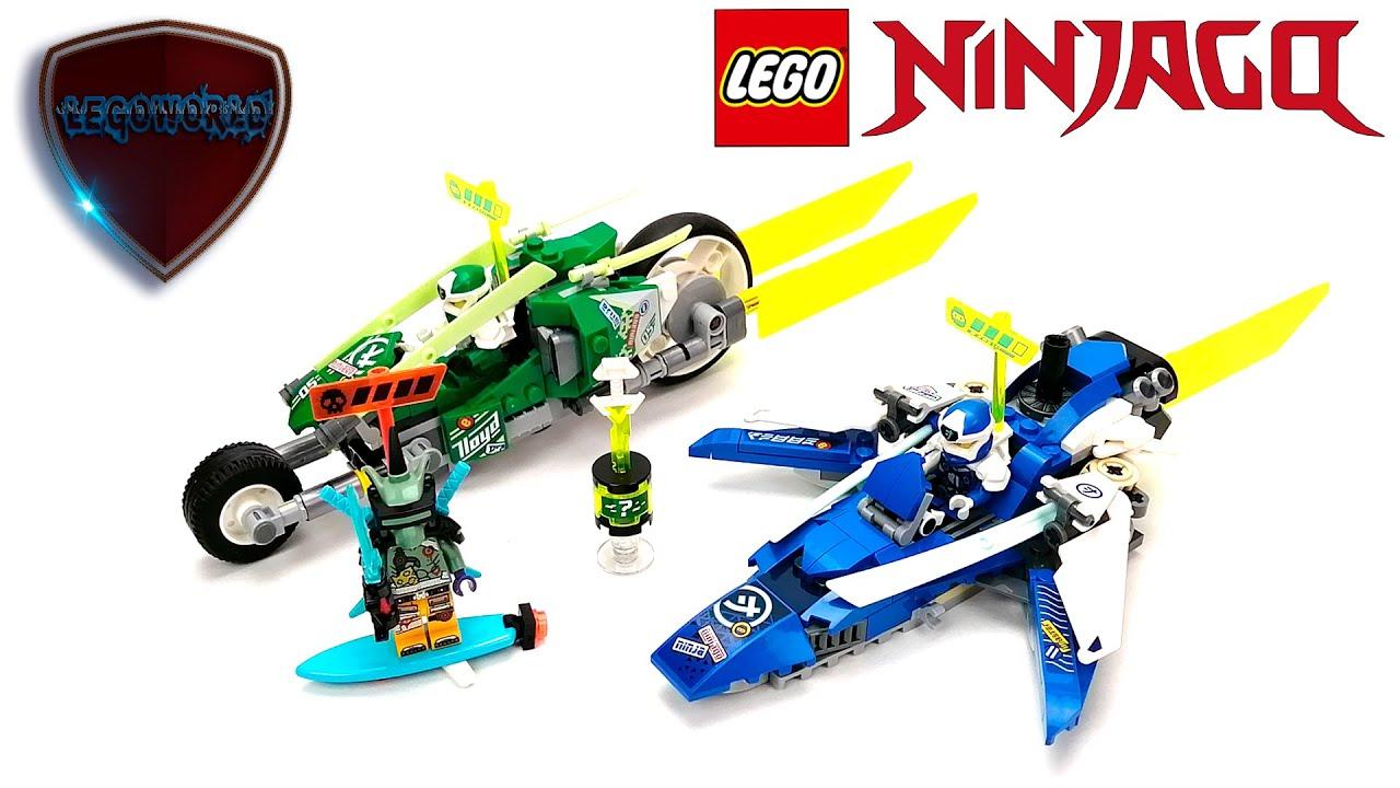 Download LEGO NINJAGO 71709 Jay and Lloyd's Velocity Racers
