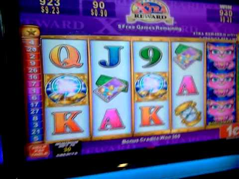 Clairvoyant cat  xtra reward slot machine