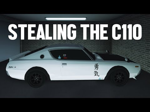 Stealing a C110 from the Myoko Police Impound Garage