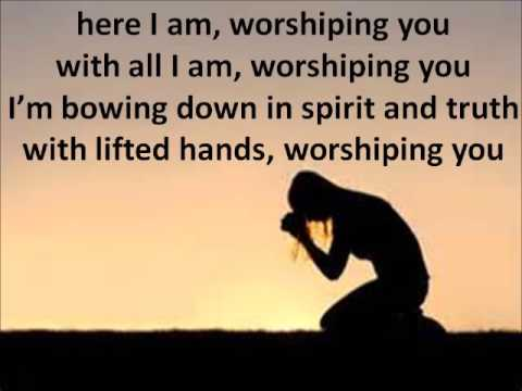 Worshiping you-  Shara Mckee Lyrics