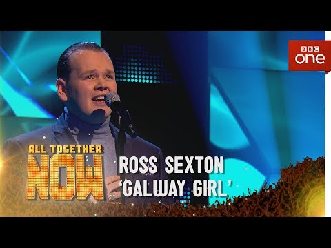Ross Sexton performs 'Galway Girl' by Ed Sheeran - All Together Now - BBC One