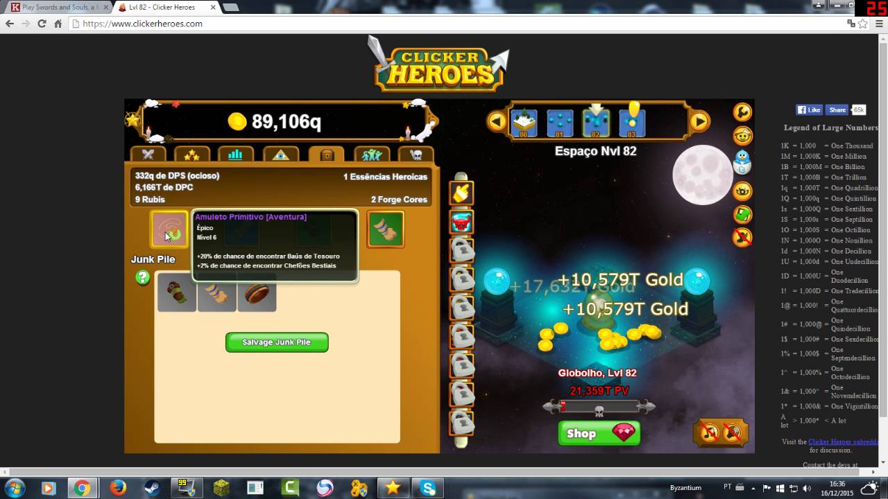 Clicker heroes how to use forge cores butik work