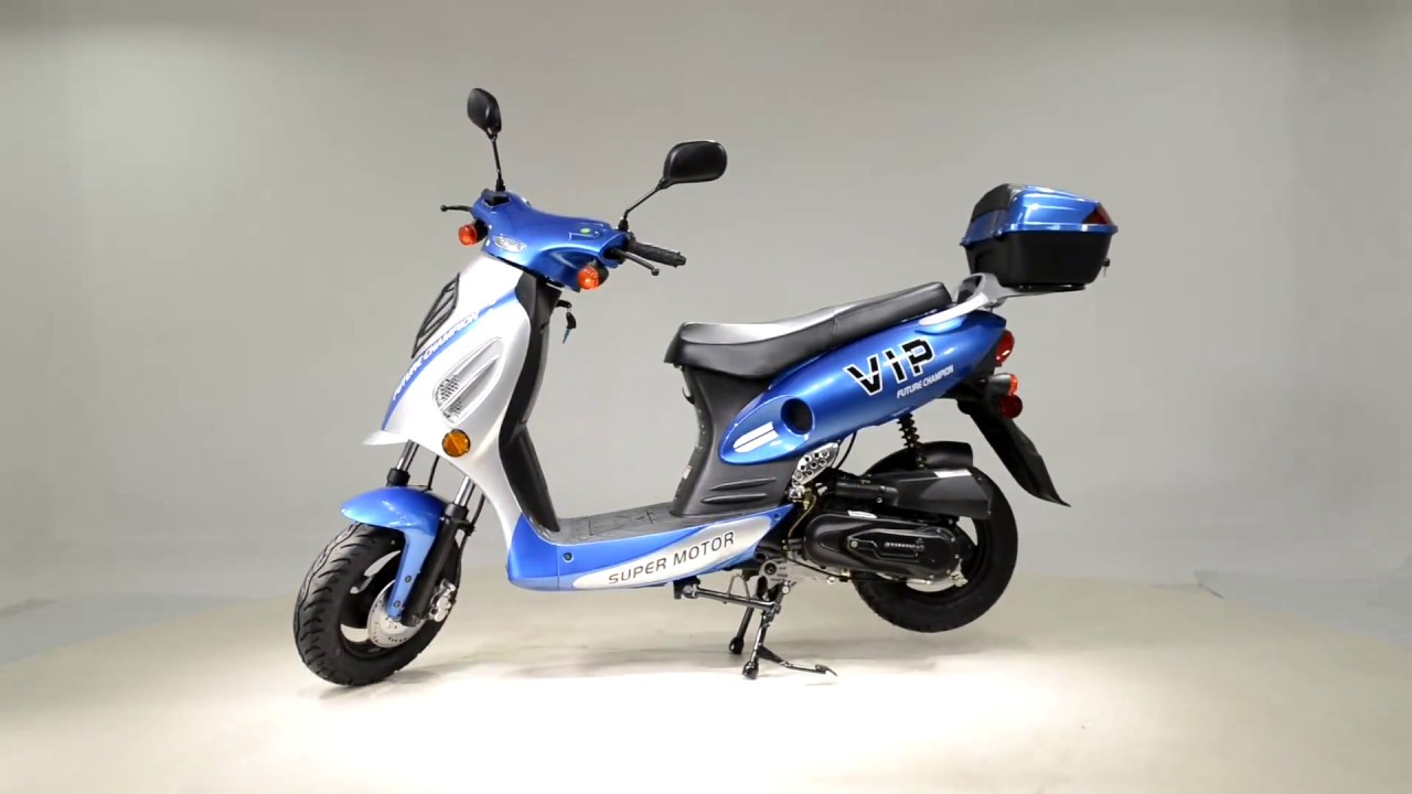 ga scooter 50cc [ 1280 x 720 Pixel ]