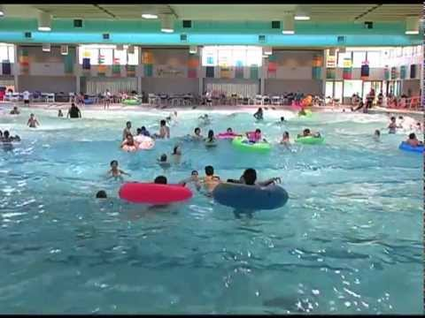 Kiwanis wave pool promo youtube for Tempe swimming pool