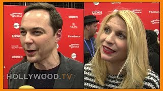 Jim Parsons and Claire Danes at Sundance - Hollywood TV