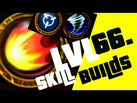 Arcane Legends | New Lvl66 Mage Skill Build