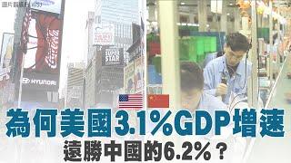 為何美國3.1% GDP增速 遠勝中國的6.2%?|就是要你翻牆!中共世界互聯網大會也搞封網|晚間8點新聞【2019年10月23日】|新唐人亞太電視
