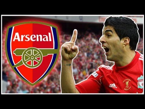 Luis Suarez Transfers Arsenal?