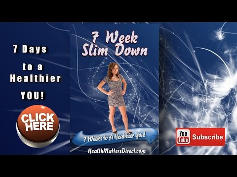 Weight Loss for Women Free 7 Week Slim Down Course to Lose Weight And Keep it Off For Good!
