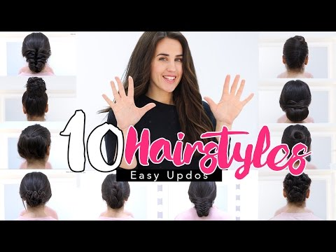10 EASY HAIRSTYLES FOR A SPECIAL OCCASION