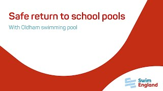 Safe return to school pools