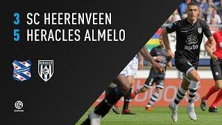 sc Heerenveen - Heracles Almelo | 16-09-2018 | Samenvatting