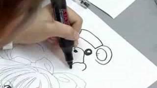 イラストを描くのが上手いと評判の「しょこたん」こと「中川翔子」さん...
