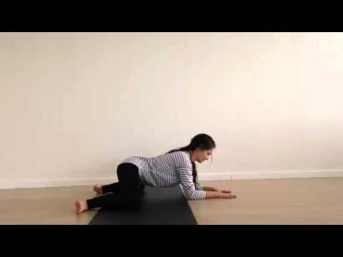 Frog Pose for Tight Hips