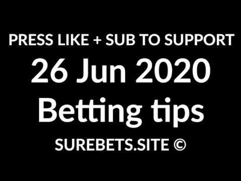Football Betting Tips Today - 26 June 2020 - Serie A, La Liga, England Championship Predictions