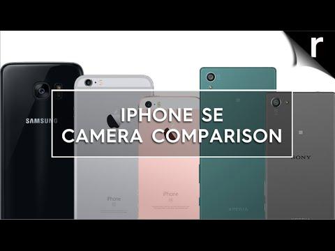 Apple iPhone SE Camera Comparison