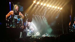 foo fighter band introduction medley featuring john travolta live welcome to rockville 2018