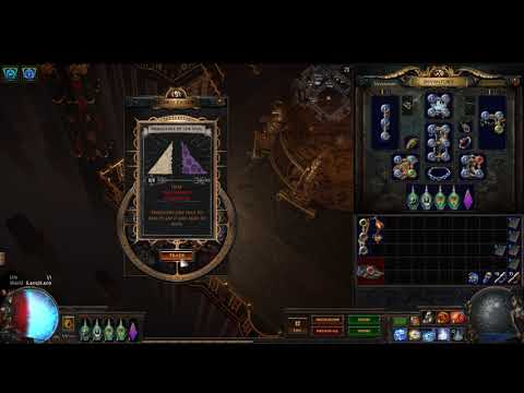 Path of Exile - Turning in ten sets of Arrogance Of The Vaal