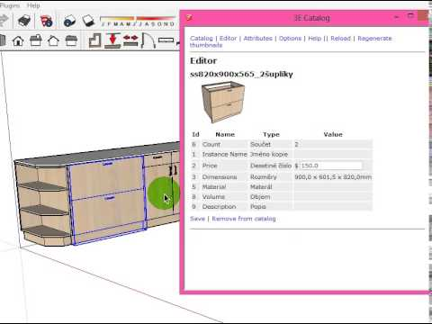 E Catalog Bill Of Material  For Sketchup  Youtube
