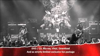 MOTÖRHEAD –  The Wörld Is Yours Vol 1 – Everywhere Further Than Everyplace Else (TV Commercial)