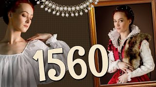 ЖЕНСКИЙ КОСТЮМ 1560 Х как одевались флорентийки эпохи Ренессанса