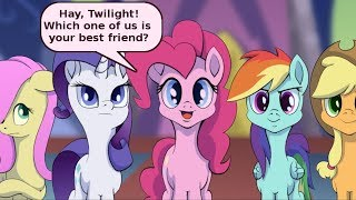 mlp comic dub friend comedy