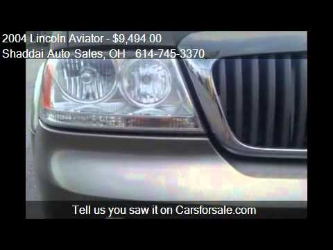 2004 Lincoln Aviator AWD Luxury - for sale in Whitehall, OH