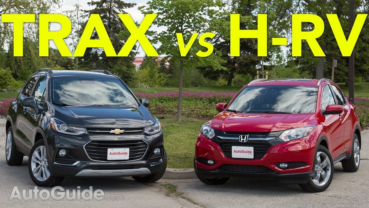 2017 chevrolet trax vs 2017 honda hr-v - youtube