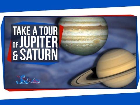 Take a Tour of Jupiter and Saturn