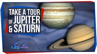 Take a Tour of Jupiter and Saturn
