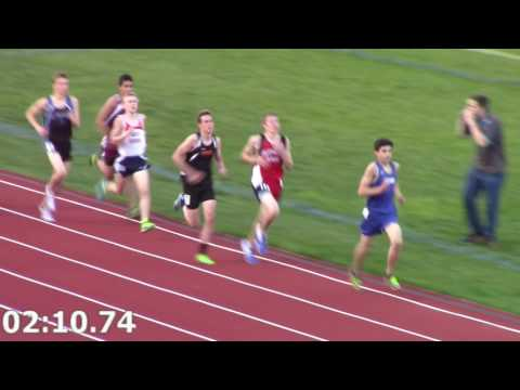 2016-05-12 UE Conference Boys FrSo 1600m