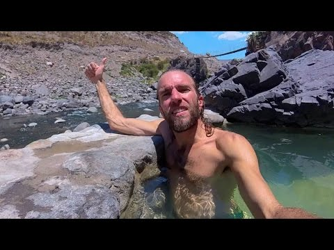 Amazing Hot Springs in the Andes Mountains of Peru