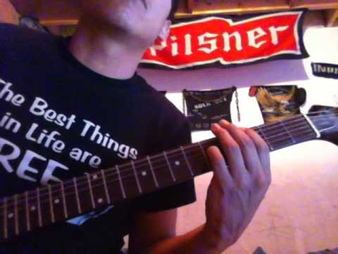 Nickelback - Too Bad Guitar Tabs - YouTube