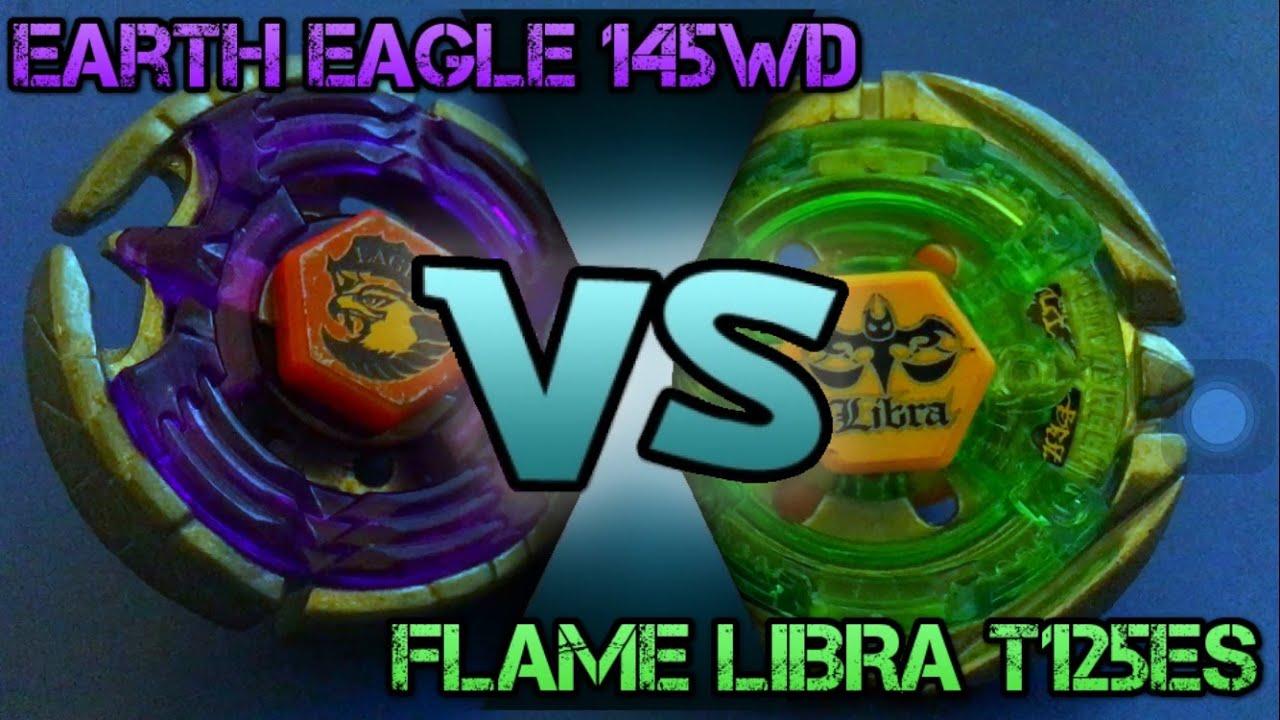 Beyblade Earth Eagle 145WD VS Flame - 167.5KB