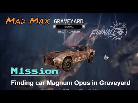 Mad Max - Choosing Body Of Car Magnum Opus In Graveyard