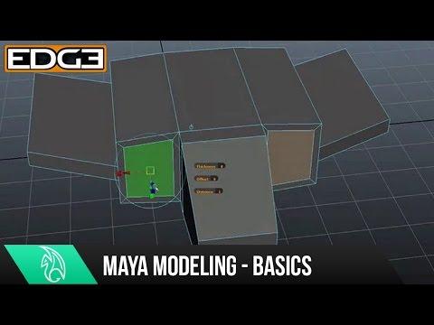 Maya Modeling Tutorial - Modeling Basics for Beginners