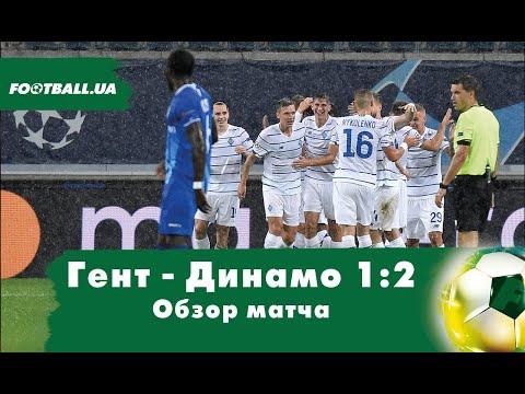 Гент - Динамо Киев: обзор матча плей-офф Лиги чемпионов
