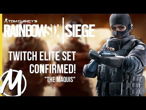 TWITCH ELITE CONFIRMED! - Rainbow Six Siege: Closer Look