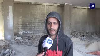 شكاوى من مزاحمة العمالة السورية للأردنيين بقطاع الإنشاءات في محافظة إربد - (15-3-2018)