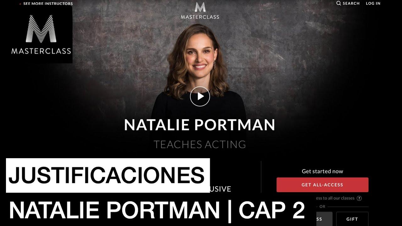 NATALIE PORTMAN consejos 2 en 3 minutos    Masterclass para actores